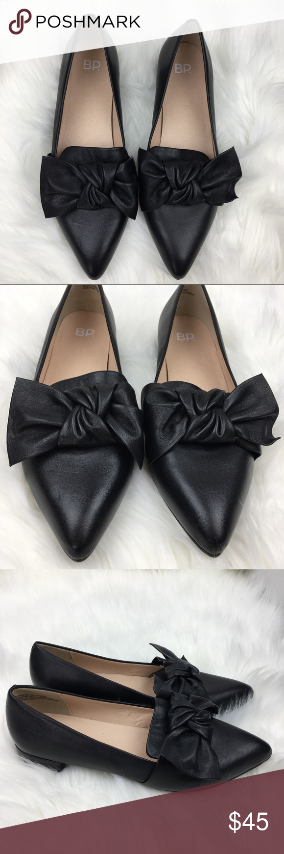 ce061699dd5 NWOB BP. Black Leather Kari Bow Loafer BP. Kari bow loafer New without box