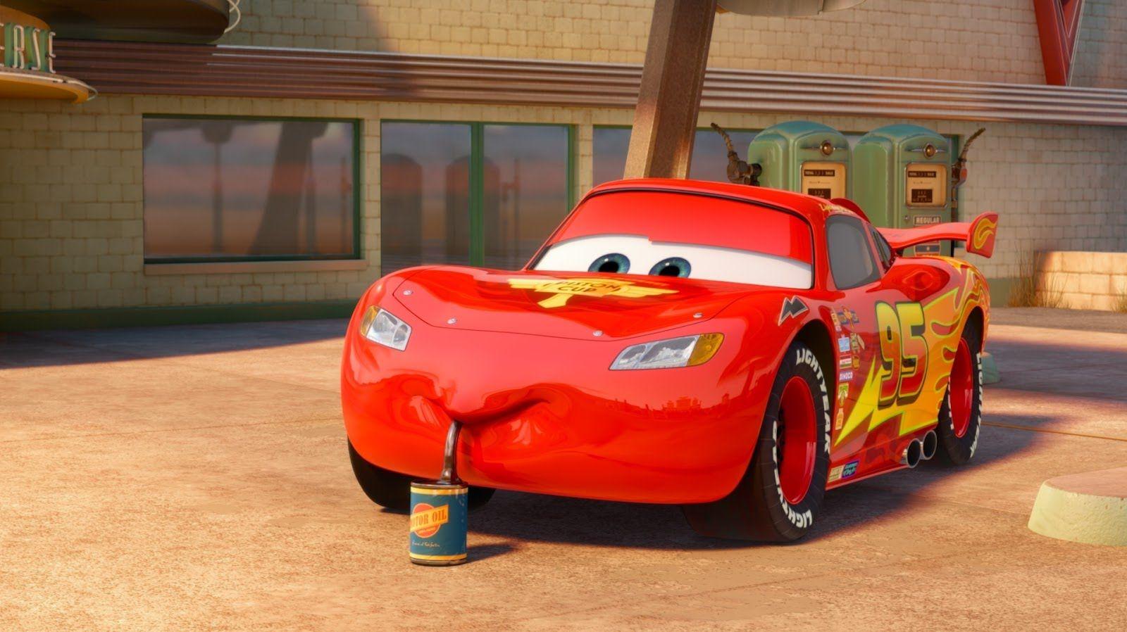 Cars 2 gameplay lightning mcqueen radiator sprint battle race