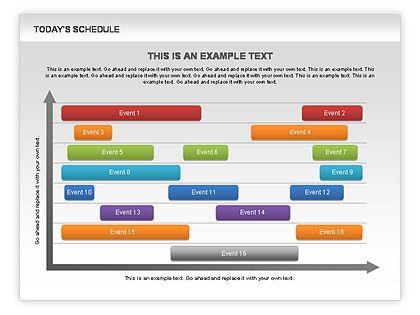 Schedule Diagram    wwwpoweredtemplate powerpoint - sample power point calendar