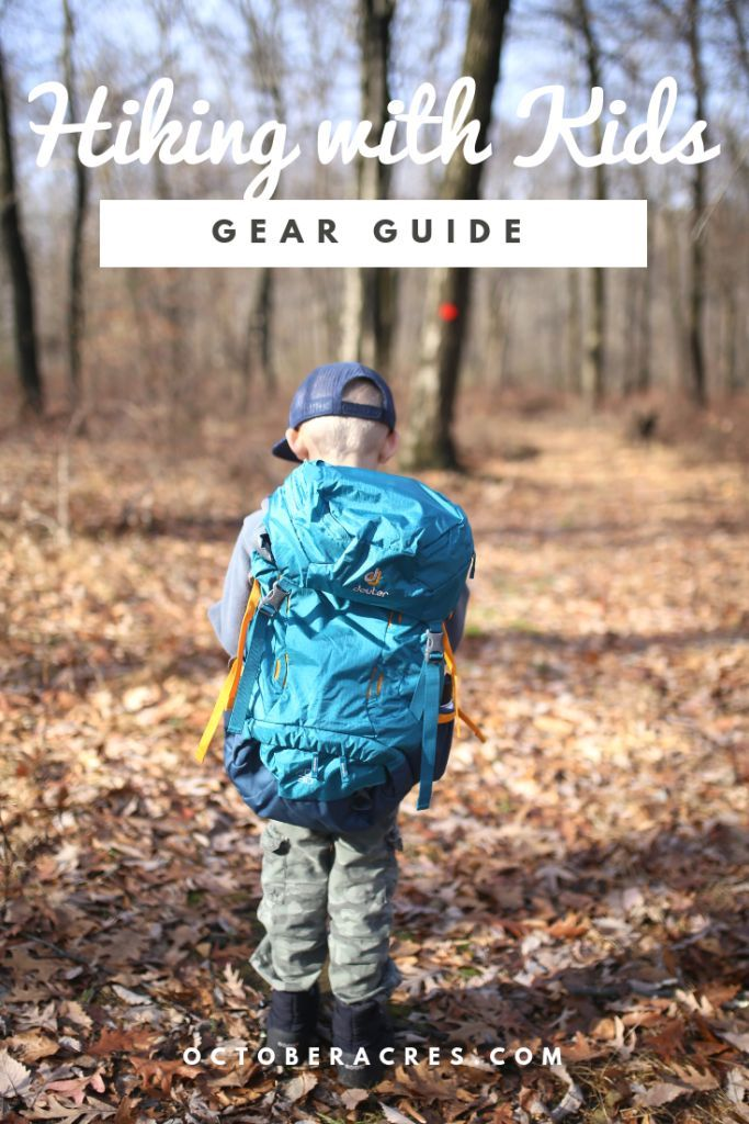 Photo of Hiking Gear for Kids and Families – October Acres
