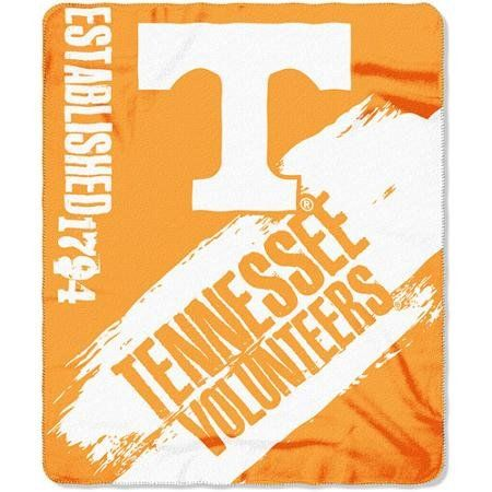 Tennessee Volunteers Blanket 50x60 Fleece College Painted Design