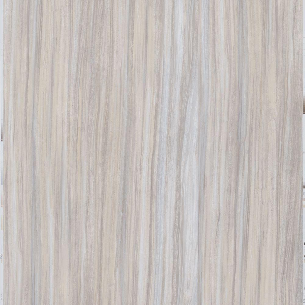 12 in. x 24 in. Peel and Stick Gray Linear Travertine Vinyl Tile (20 ...