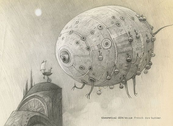 Shaun Tan Creatures