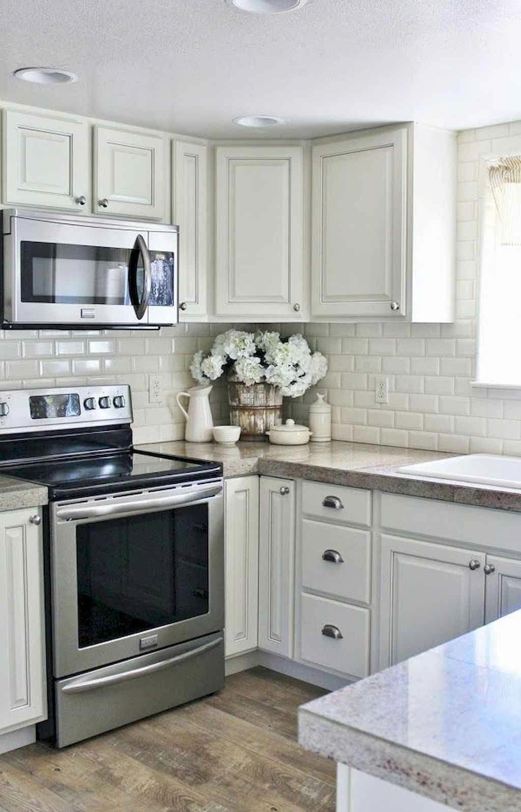 Best 65 Gray Kitchen Cabinet Makeover Ideas Domakeover Com 400 x 300
