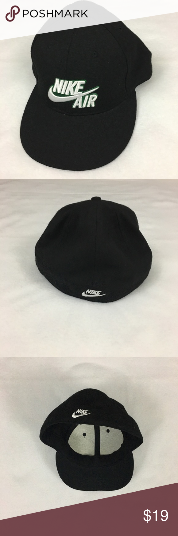 6abd2ea87b0 Vintage Mens Nike Air 643 Fitted Baseball Cap Hat Good used condition! One  size fits