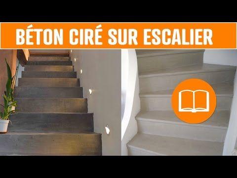 Youtube Beton Cire Sol Beton Cire Escalier Beton Cire