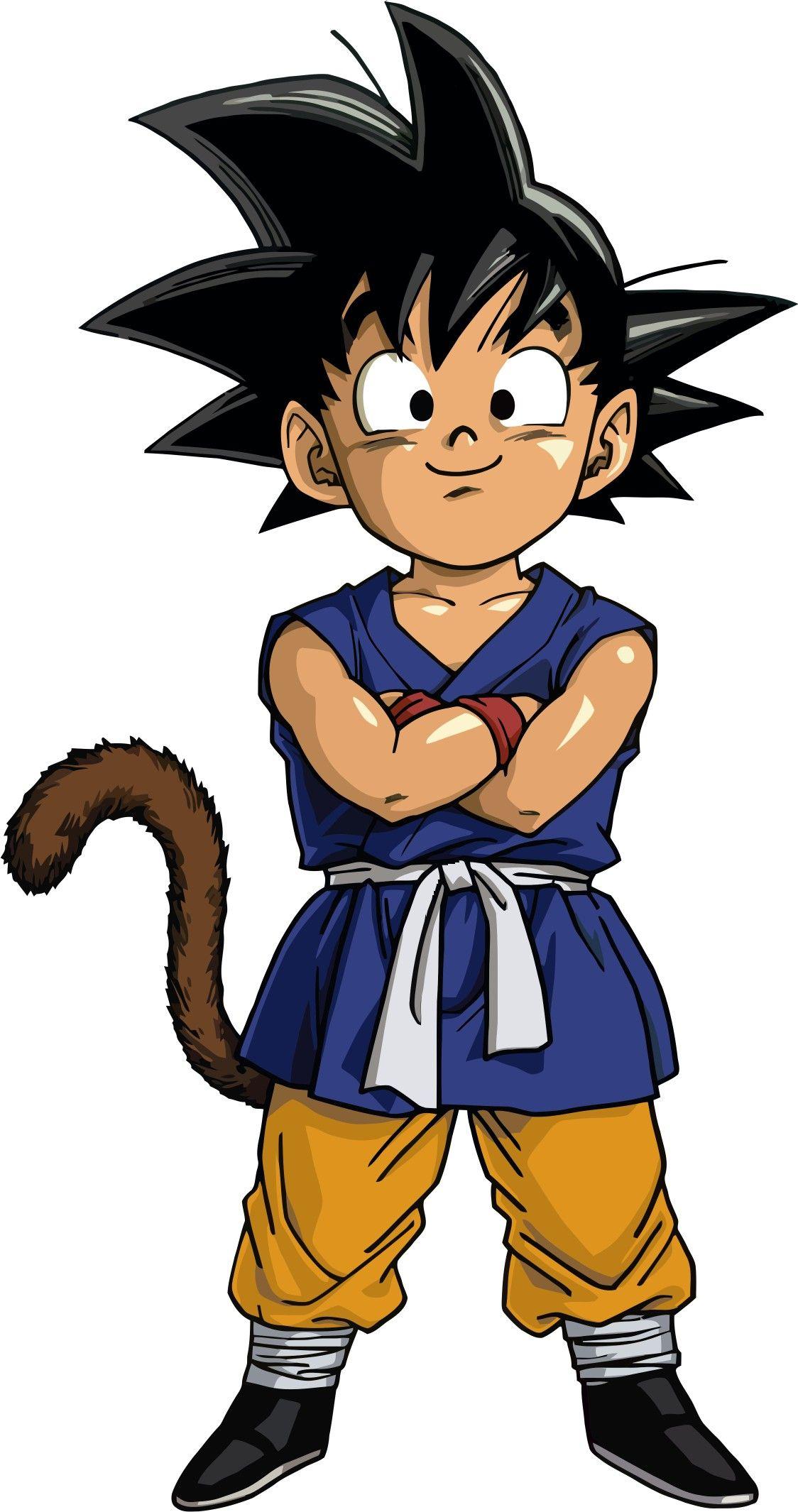 Kid Goku Goku Crianca Desenhos Dragonball Tatuagem Desenho Animado