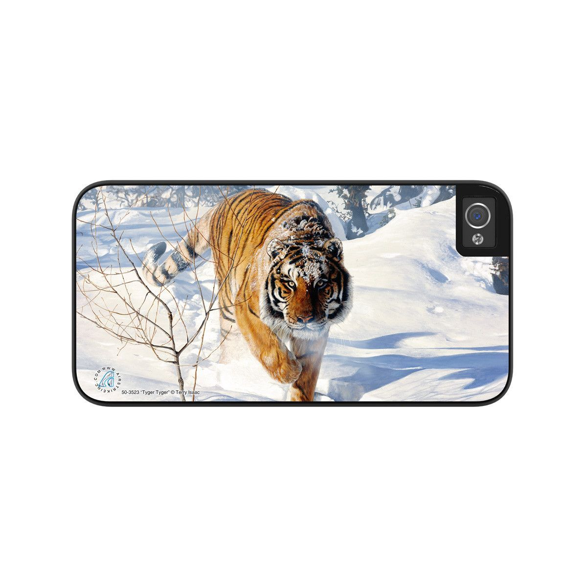 "Airstrike® 50-3523-""Tyger Tyger"" Bengal Tiger iPhone 5 Case, iPhone 5s Case, iPhone 4/4s Case Protective Phone Cases"