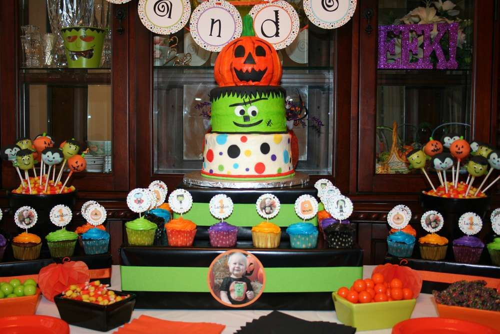 Halloween first birthday halloween party ideas photo 4