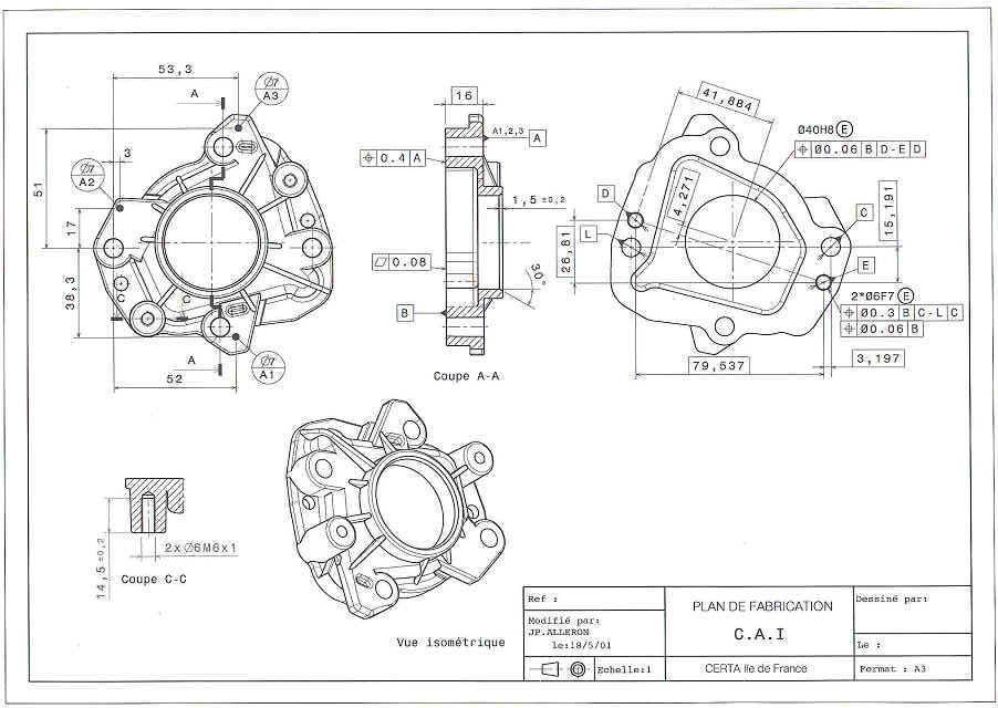 imoca 60 2d drawings