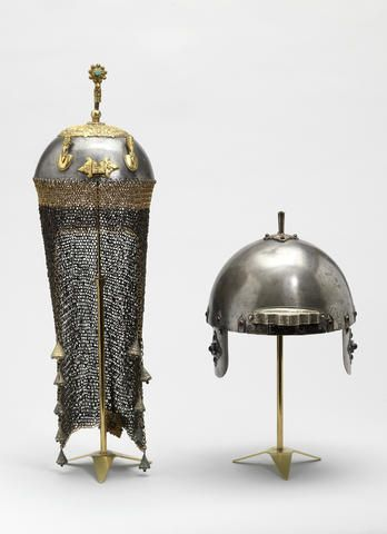 A gem-set steel Helmet South East Asia, 18th Century