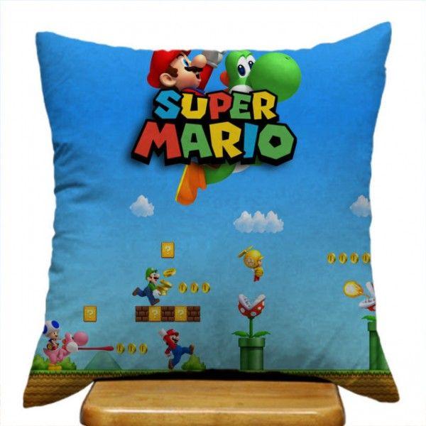 Super Mario Bross Best Design Custom Classic Game Pillow Cases