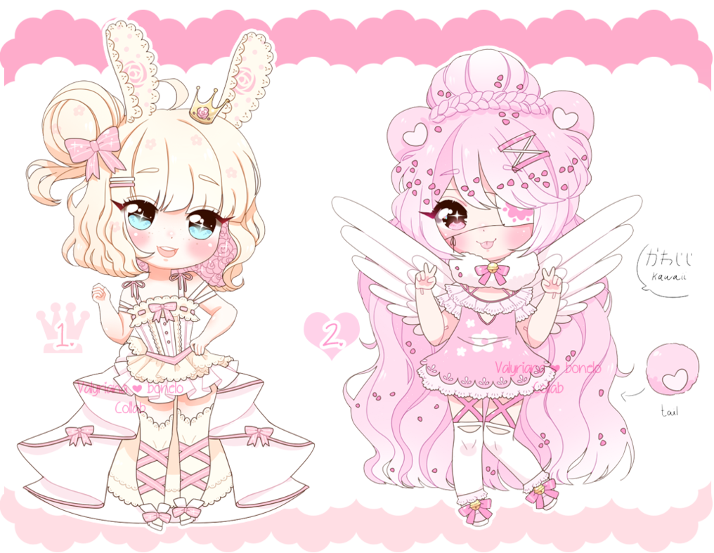 CLOSED Collab Adopts with bonelo by https//www.deviantart