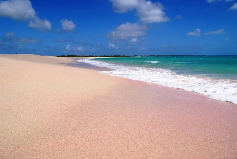 Barbuda S 17 Mile Beach Is The Longest In Caribbean And It One Of
