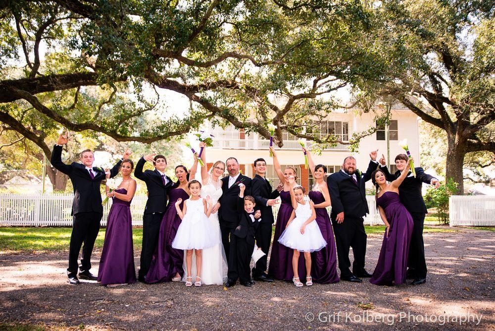 Wedding At George Ranch Historical Park Houston Photographer