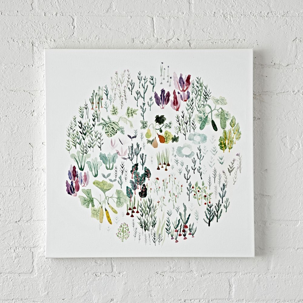 Garden wall art products pinterest canvases walls and products