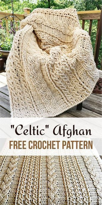 Celtic Afghan | Pattern Forest