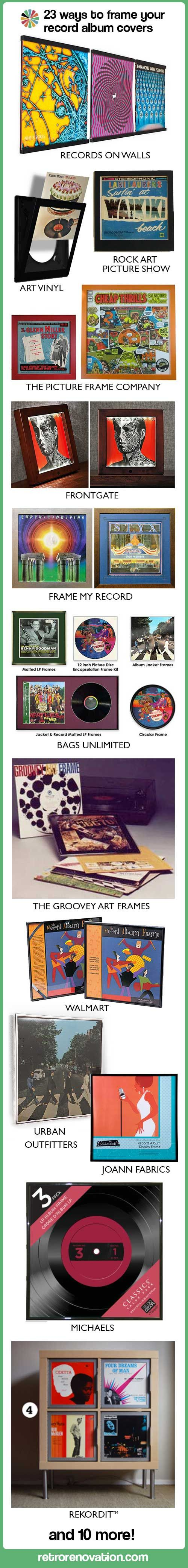 23 ways to frame your record album covers | My Style | Pinterest ...