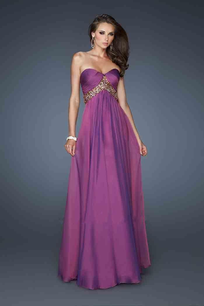 Long Strapless Dress By La Femme 18612 Hot Dresses World Wide ...