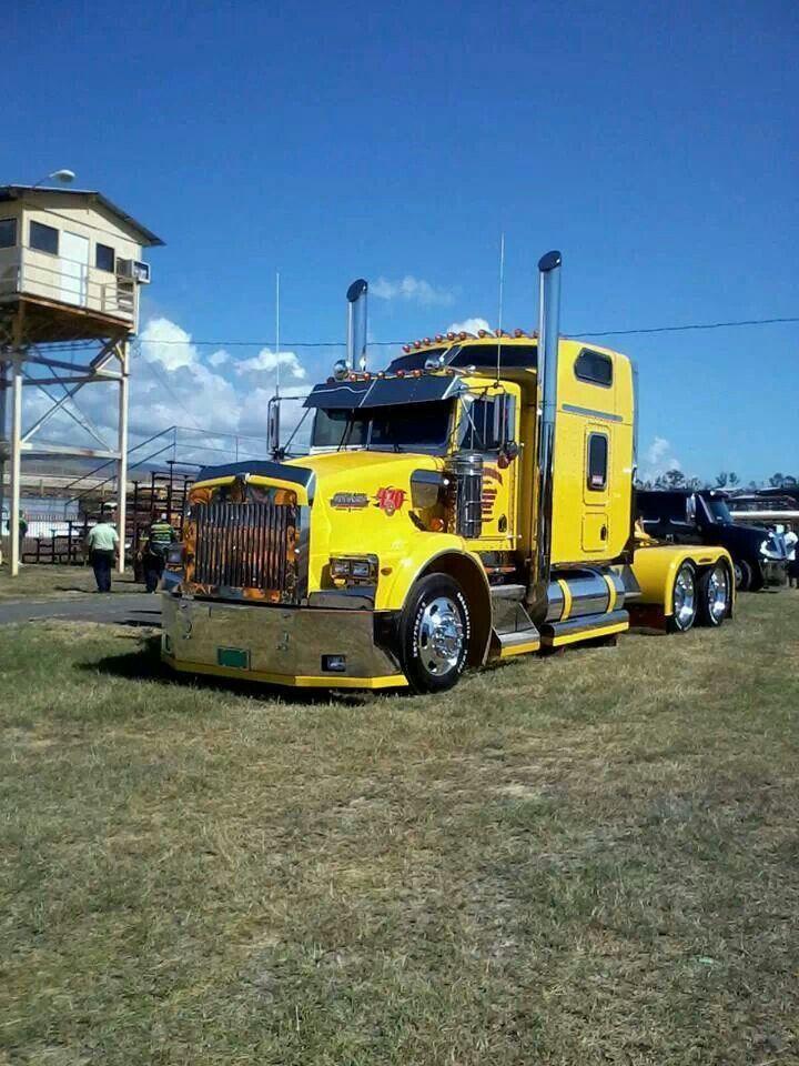 Kenworth T800 Big Trucks Kenworth Trucks Big Rig Trucks