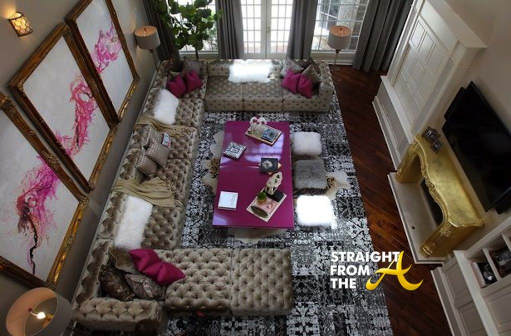 Kandi Burruss Living Room