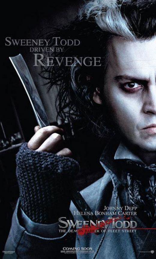 15 Demon Barber Ideas Sweeney Todd Tim Burton Movie Johnny Depp Movies