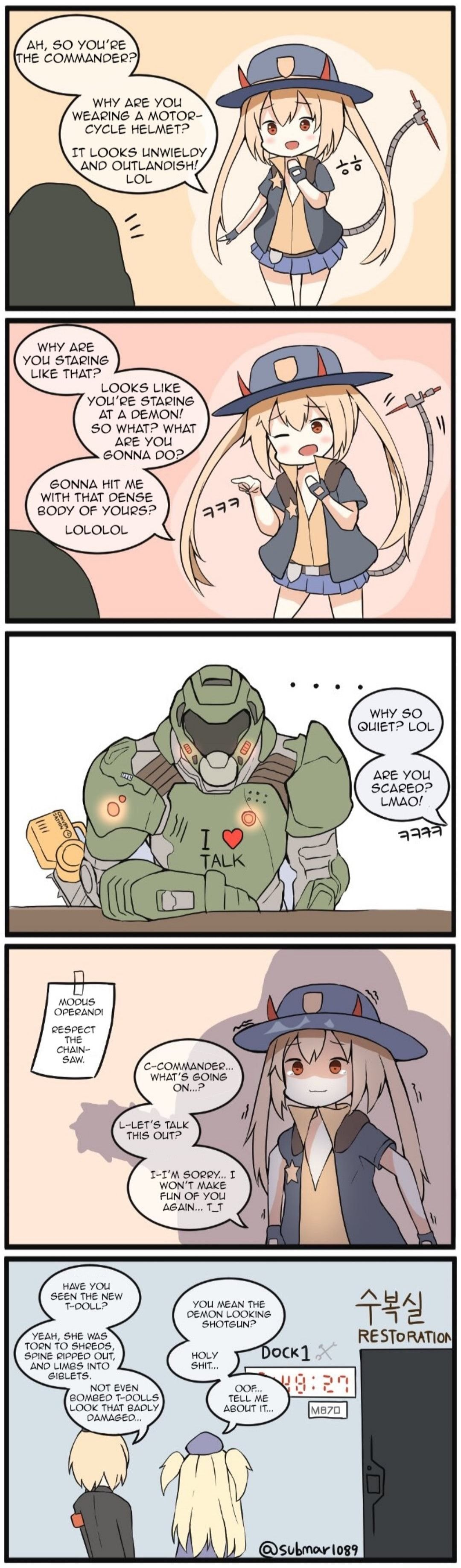 Pin by Jan Angeles on Doom Funny anime pics, Funny
