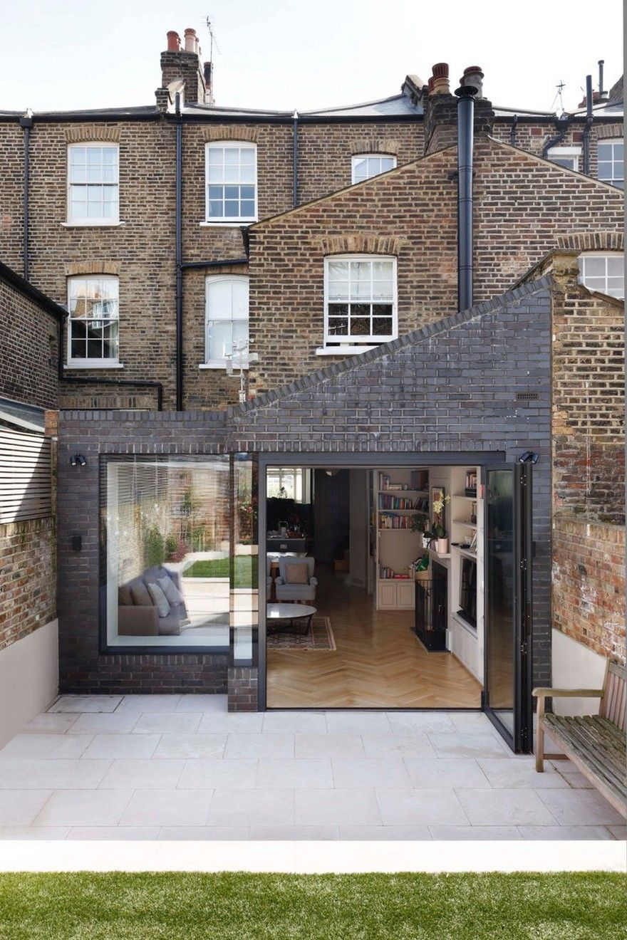 Victorian Family House In London Gets Fresh Redesign 15 House Extension Design London House House Exterior