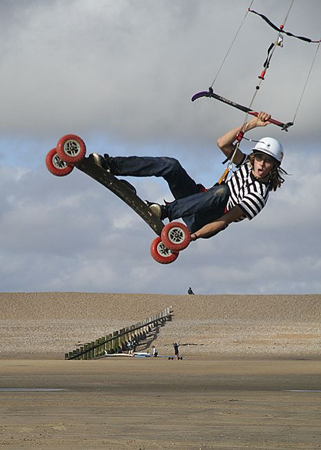 Sand Kiting Action Sports Photography Extreme Sports Sports Photography