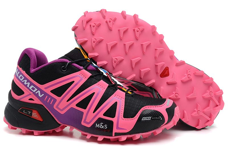 The only shoes I will EVER run in. Salomon Speedcross 3