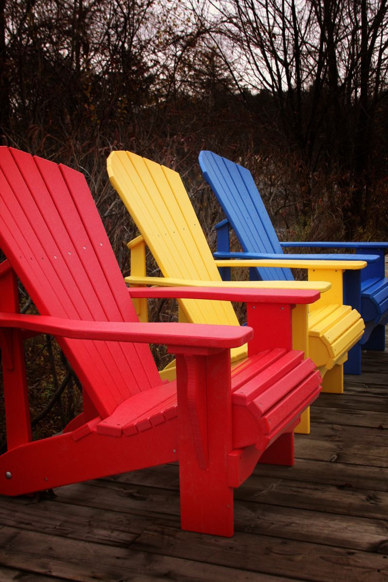 Recycled Plastic Chairs Muskoka Chair Company In 2020 Recycled