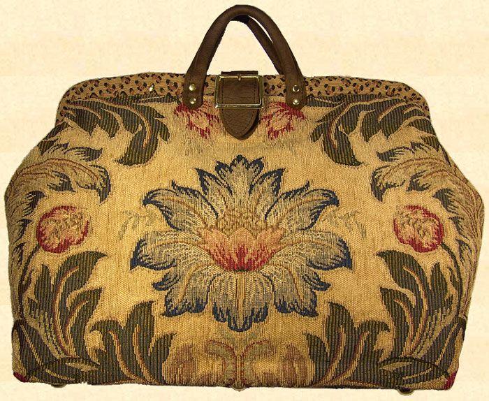 Mary Poppins Bag Vintage Object Images Carpet Bag