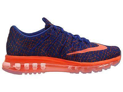 Nike Air Max 2016 Print Mens 818135-402 Concord Crimson Running Shoes Size  12 8185da48c