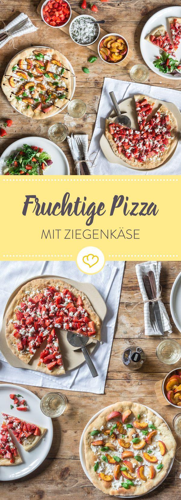 Küchenschränke davor und danach pizza mit ziegenkäse erdbeeren und nektarinen  receita  tasty