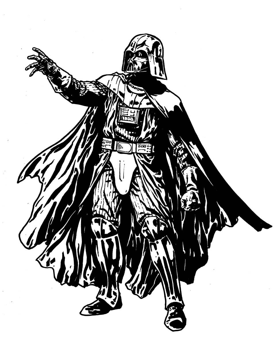 darth vader coloring lightsaber google search - Darth Vader Coloring Pages