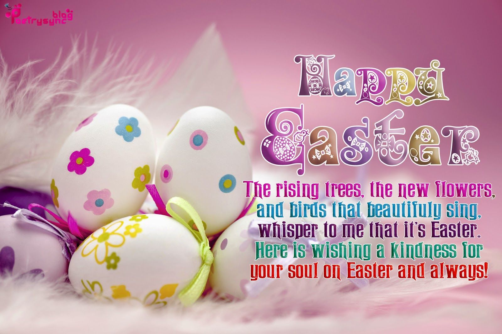 Happy Easter Holiday Wishes Quote Message Wallpaper Easter