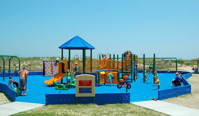 The Playground Was Completely Renovated