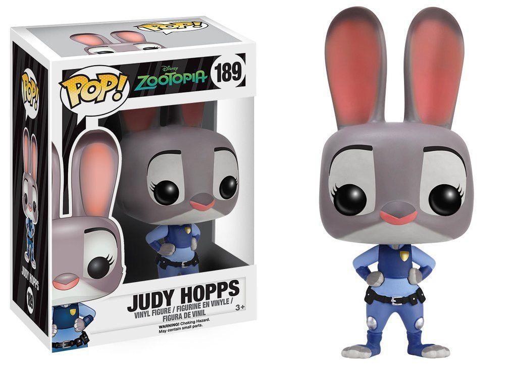Pop Disney 189 Zootopia Judy Hopps Pop Funko Pop