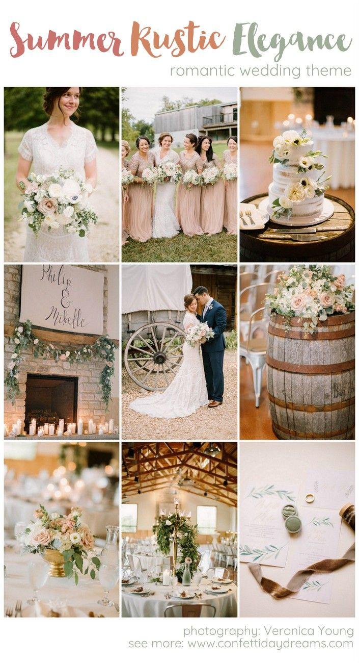 Ridiculously stunning summer Rustic Elegance wedding! | Rustic ...