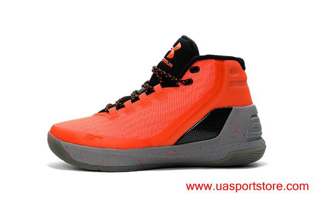 newest collection c6f07 fa32e Offical Under Armour UA Curry 3 Red Hot Santa Graphite ...