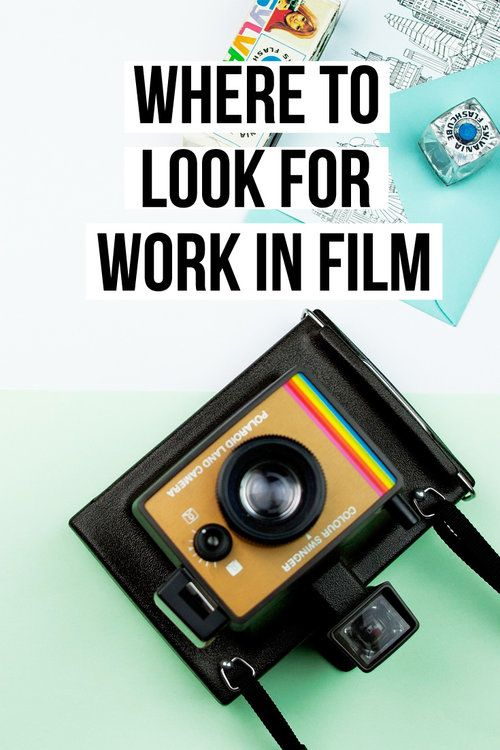 Where to look for film jobs A list of places to look and find work