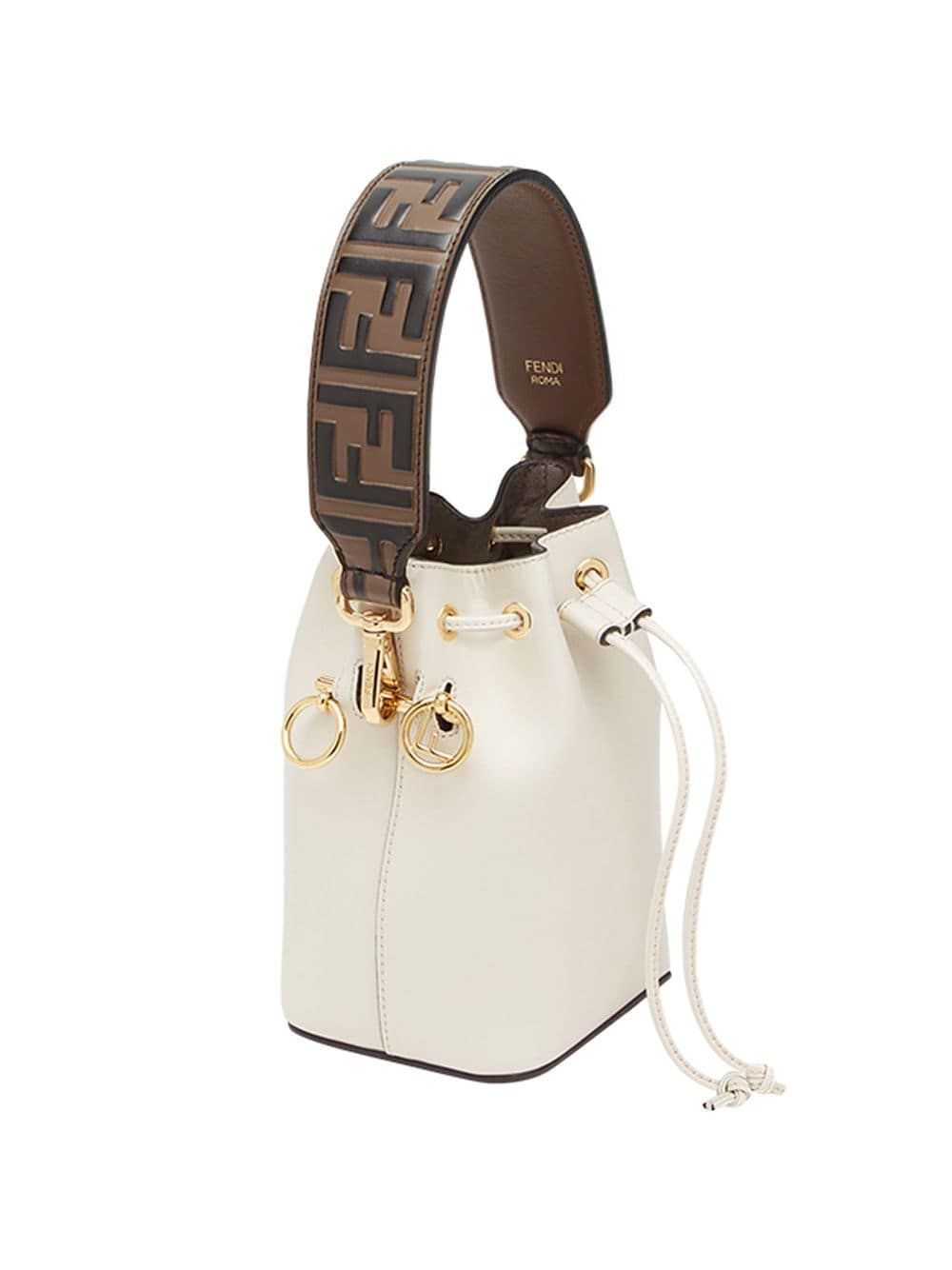 Fendi mini Strap You bag strap - Brown Fendi mini