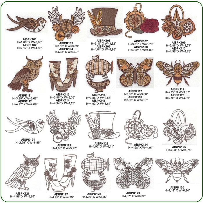 Steampunk | Steampunk Embroidery | Pinterest | Embroidery ...