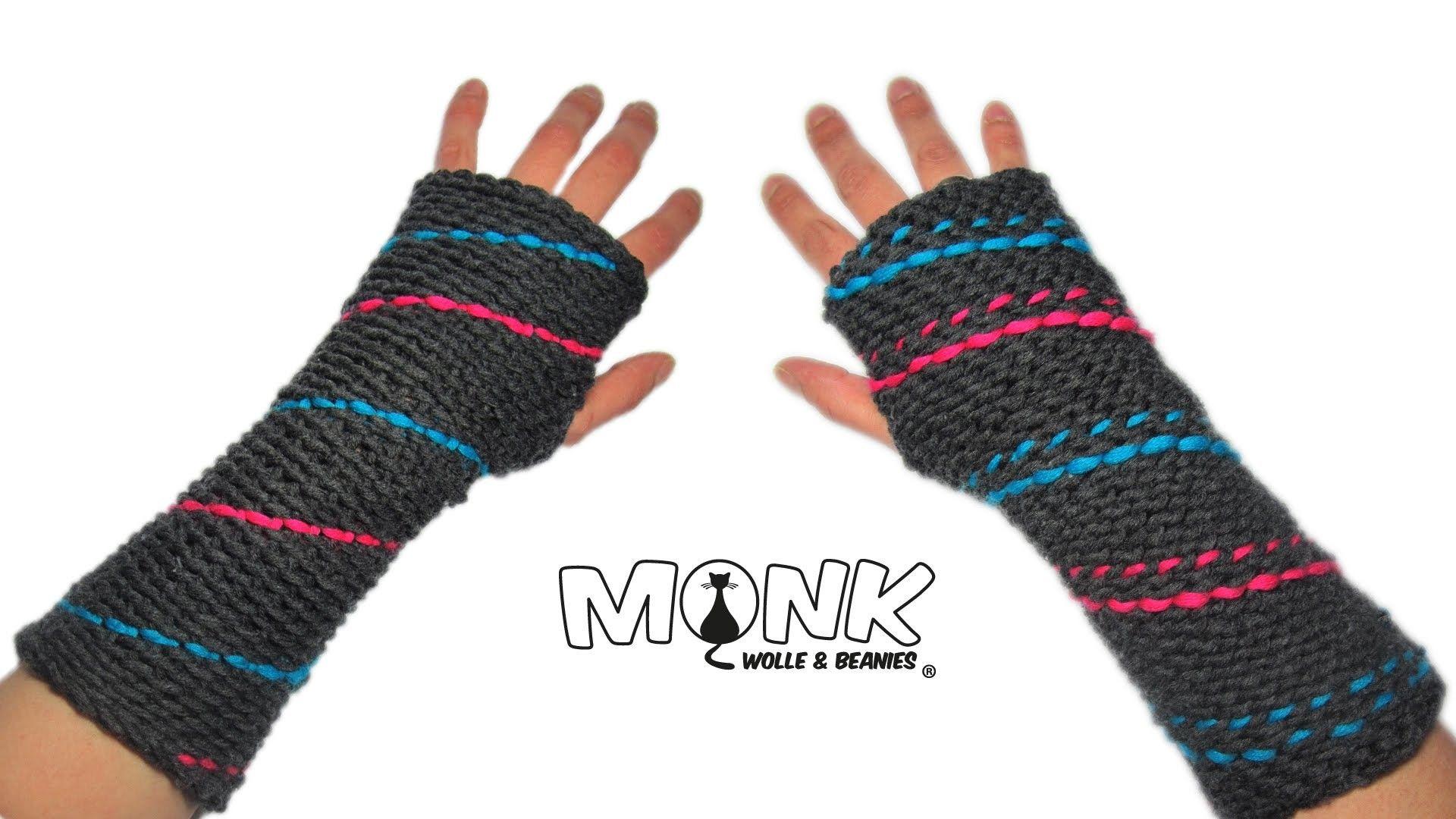 Funky Spitze Fingerlose Handschuhe Häkelmuster Collection - Decke ...