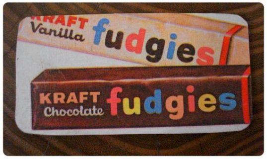 Kraft Fudgies   Baby boomer years, Kraft, Candy