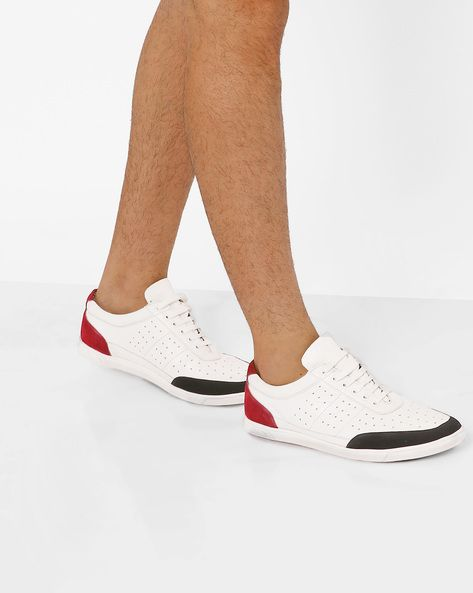 Buy men white sneakers Online | AJIO