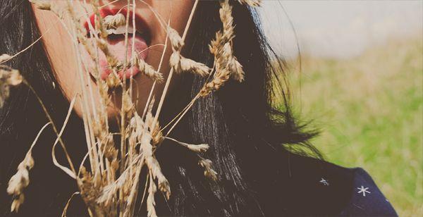 Long grass and pretty scenary