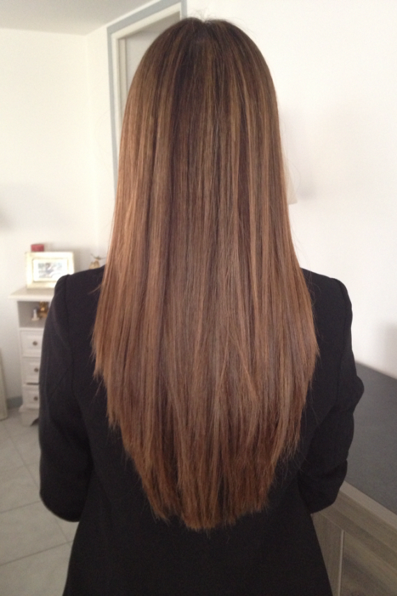 Hair Straightening Process Hairstyles For Girls How To Get Smooth And Straight Hair 20190518 Hair Styles Straight Hairstyles Long Hair Color