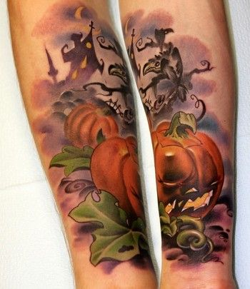 Halloween Tattoos! 23 Examples of Cool and Creepy Tattoos ...