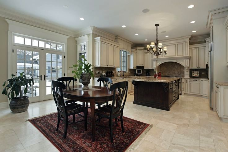 Like The Off Set Cupboards In This One Not Sure What Looks Good With 10 Foot Ceilings Luxury Kitchen Island Luxury Kitchen Design Kitchen Design